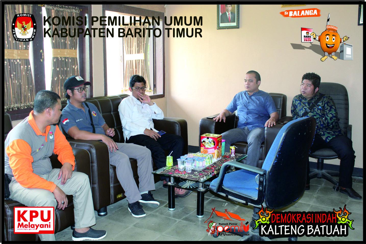 Monitoring Kegiatan Recruitment Calon PPK & Tahapan Wawancara Recruitment Calon PPK Barito Timur